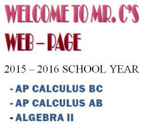2015 2016 Class Listing Homepage