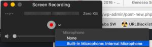 built in mic